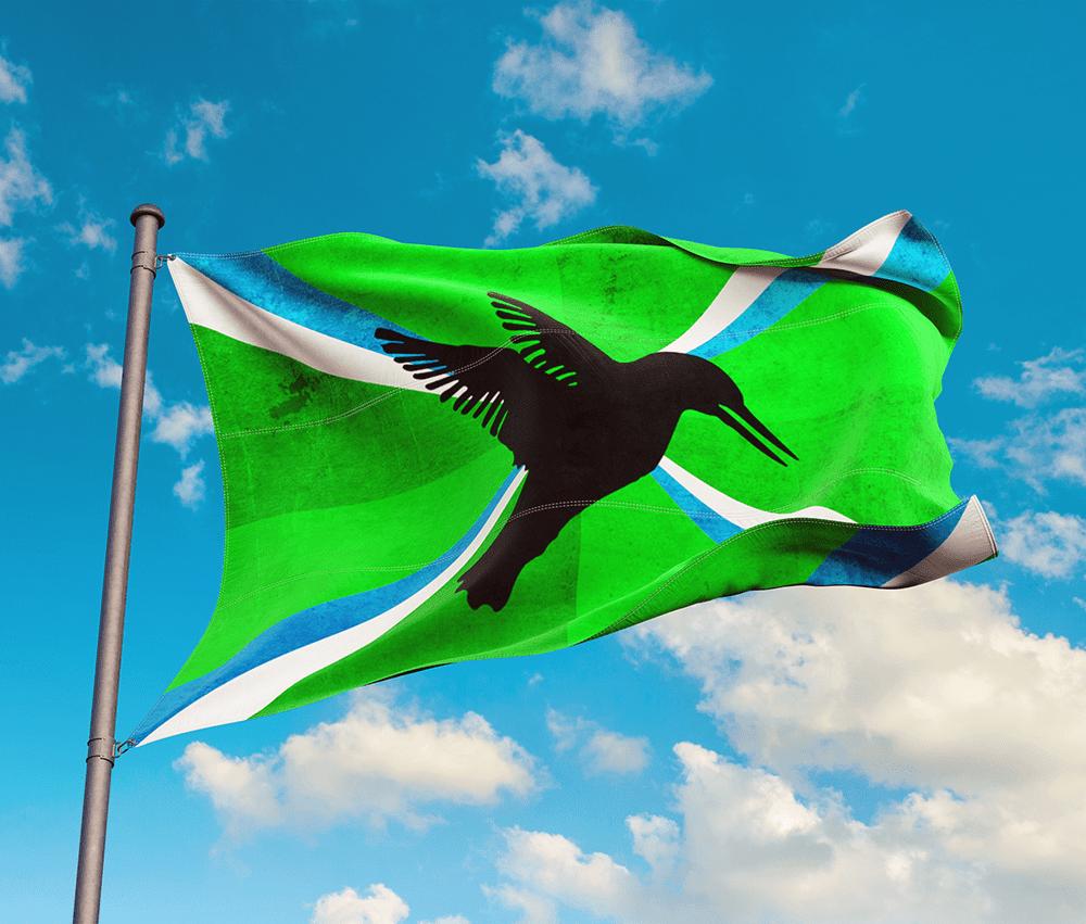 Achterhoekse vlag ontwerp