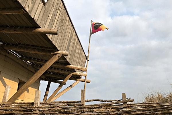 Vlag ontwerp vakantiehuis de Hut