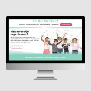Feestje bij Fem webdesign
