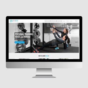 Website ProFit personal training