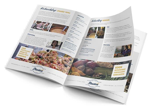 Brochure kookworkshops Studio 16