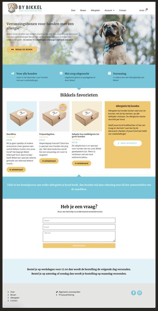 Webshop By Bikkel