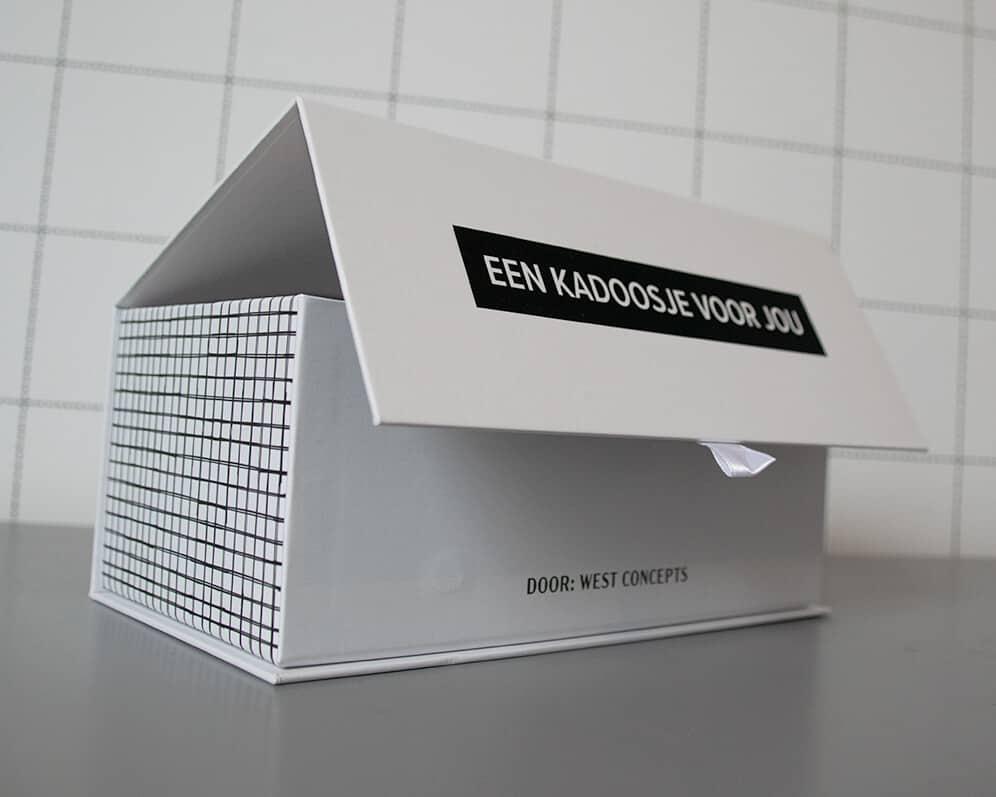 Cadeauverpakking ontwerp West Concepts