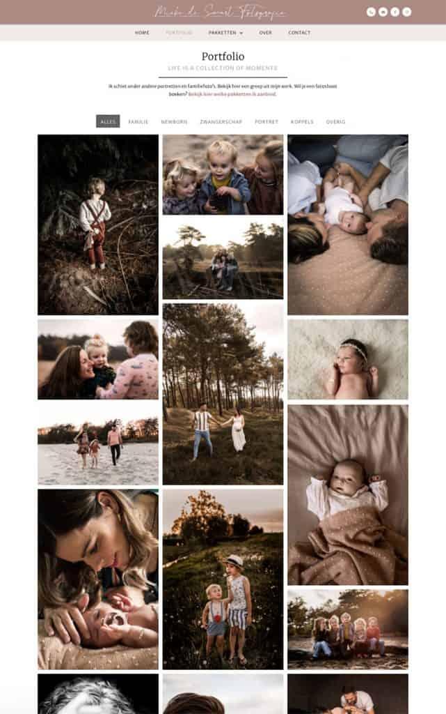 Mieke de Swart fotografie portfolio