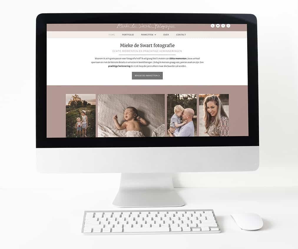 Mieke de Swart fotografie website