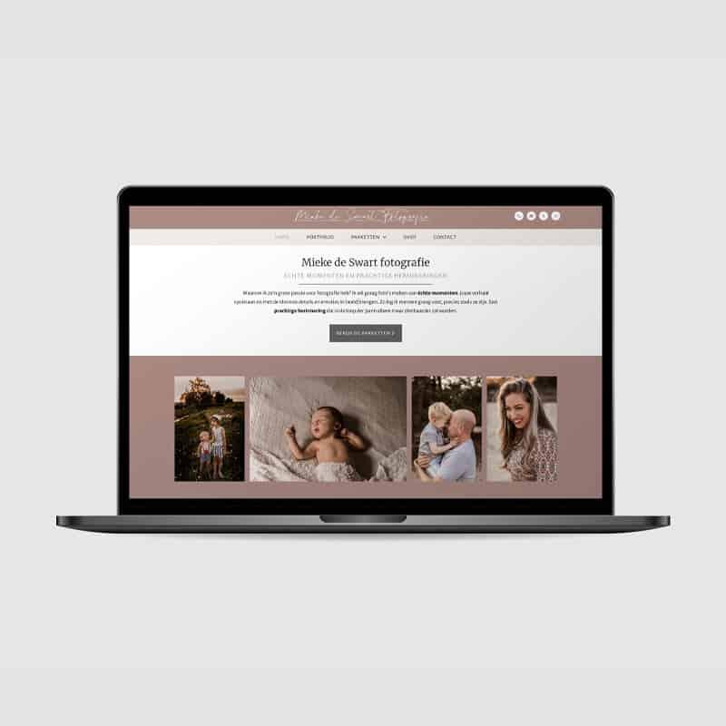 Website Mieke de Swart