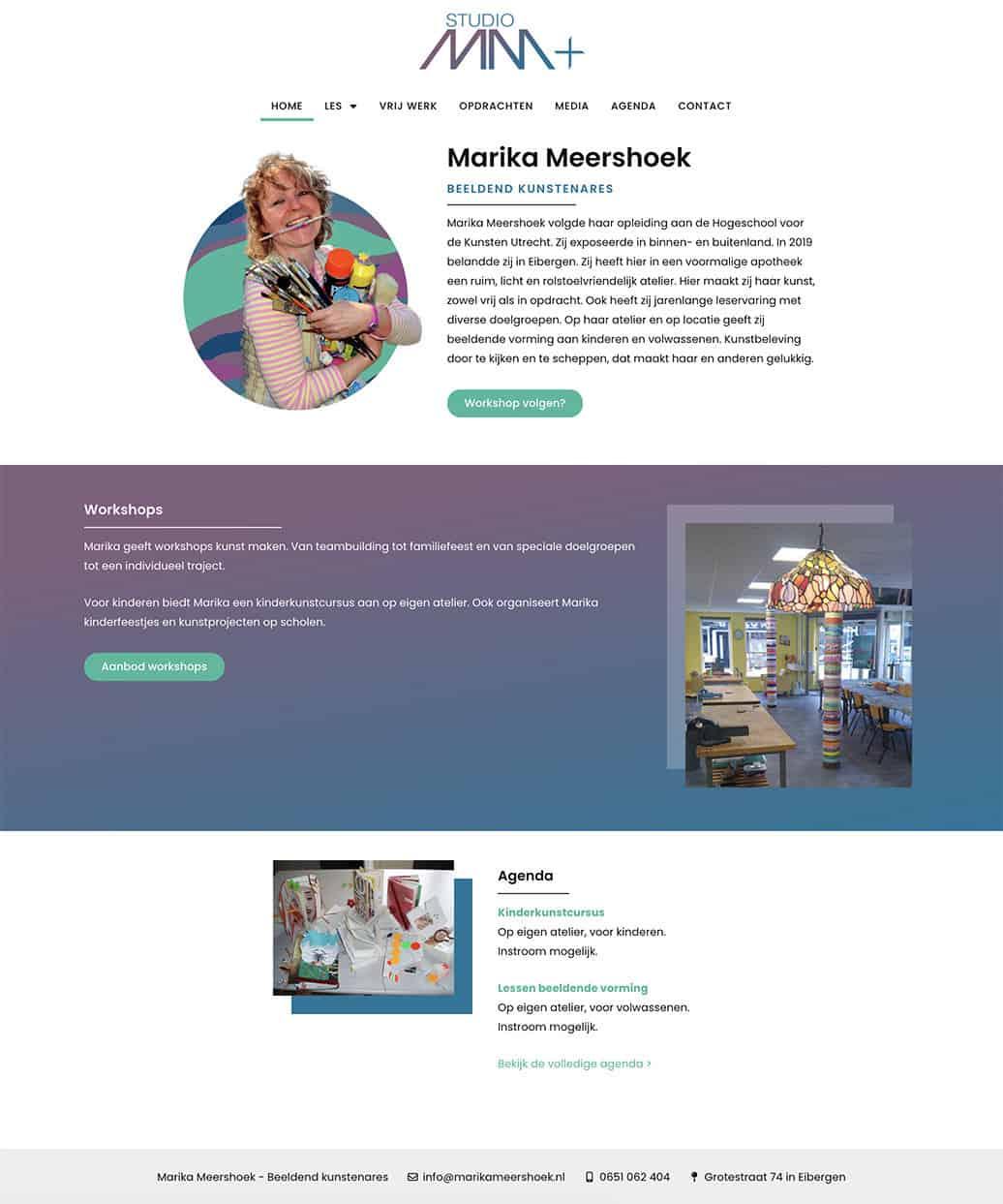 Website Marika Meershoek