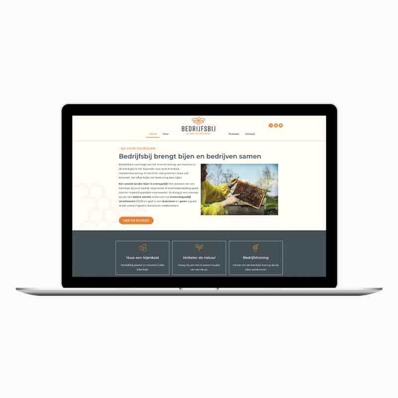 Bedrijfsbij webdesign